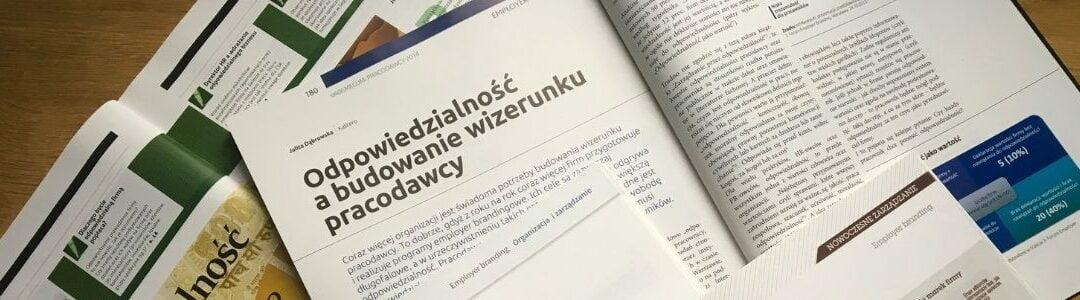 odpowiedzialność a budowanie wizerunku pracodawcy Julita Dąbrowska