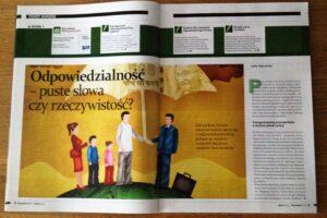 Odpowiedzialność artykuł Julita Dąbrowska