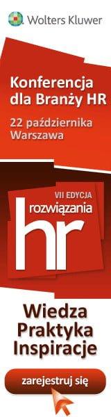 """Nasz patronat: VII konferencja """"Rozwiązania HR"""" już 22.10.2014."""