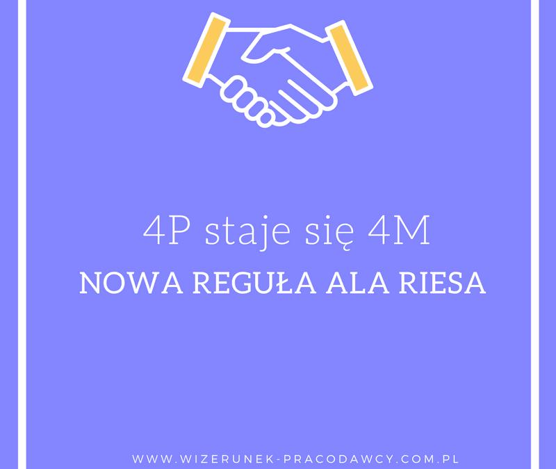 4M nowa reguła według Ala Riesa