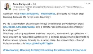 referencje Anna Parzyszek
